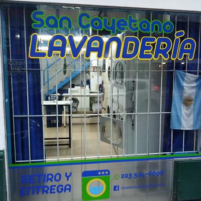 Lavandería San Cayetano  - logo