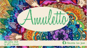 Amuleto - logo